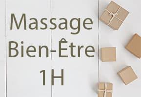 Massage Bien-Être de 1H au choix